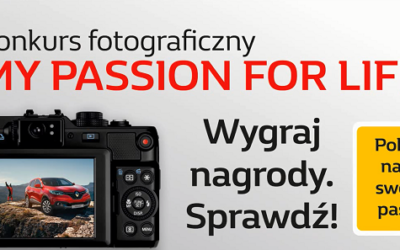 "Konkurs fotograficzny ""My passion for life"""